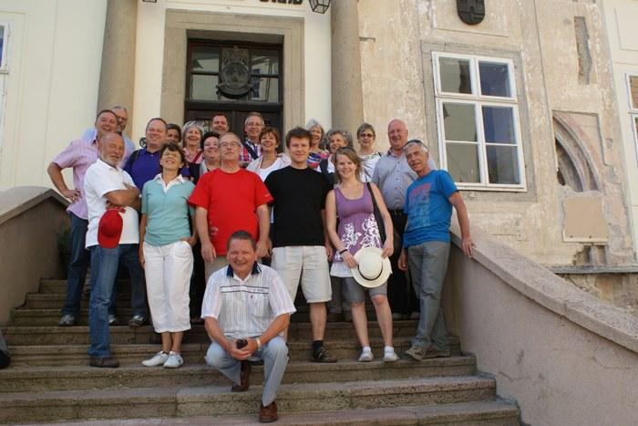 Juli 2011, Reise nach Banska (Gruppenphoto)