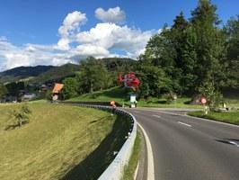 Verkehrsunfall Menzingen