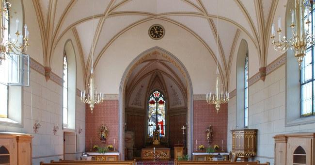 Kirche in Menzingen
