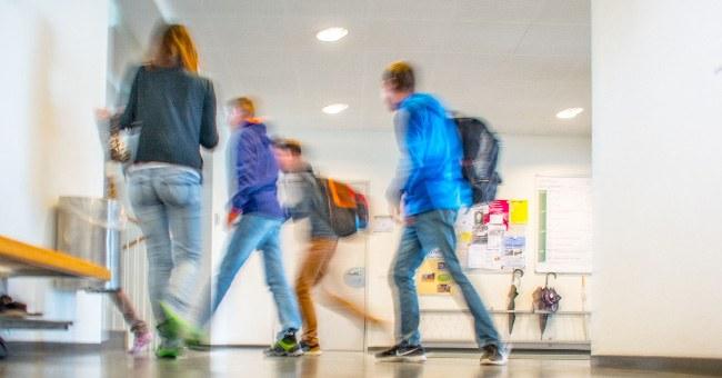 Korridor der Schule Menzingen
