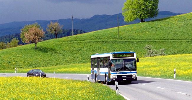 Öffentlicher Verkehr Menzingen