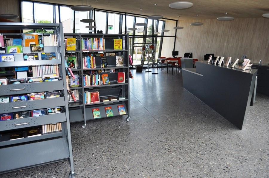 Innenaufnahme der Bibliothek