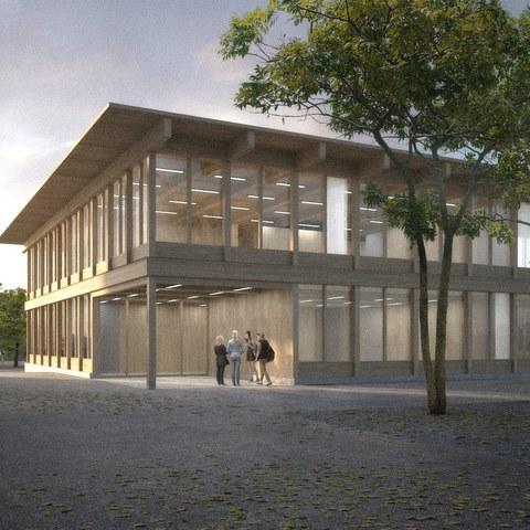 neues Schulhaus Oberstufe