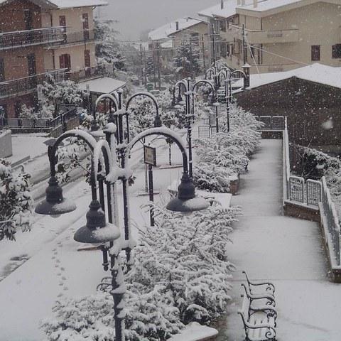 Amaroni im Schnee1