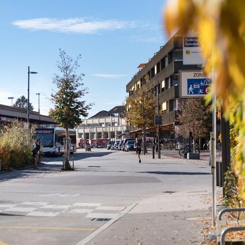 Begegnungszone Bahnhof Nord