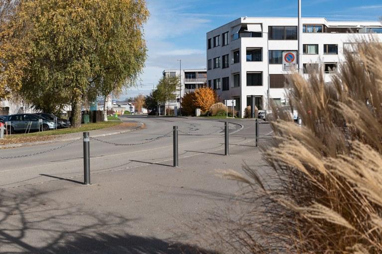 Birkenstrasse der Suurstoffi entlang