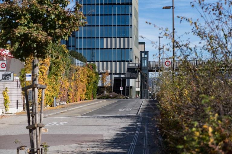 Zufahrt Hochschule Luzern