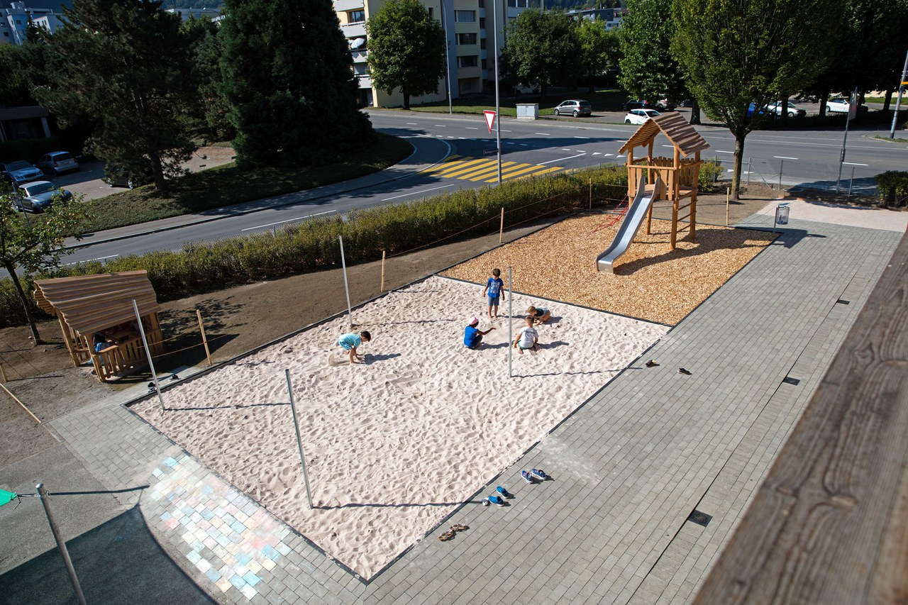 Neugestaltung Spielplatz Kindergarten Waldegg