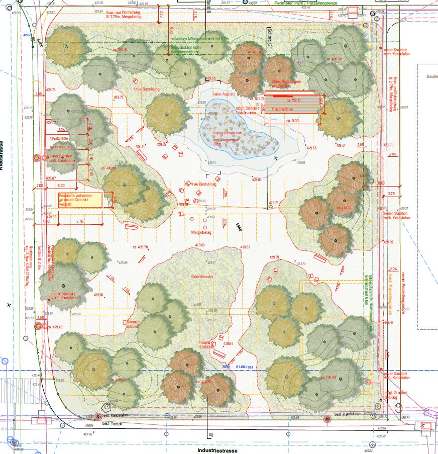 Umgebungsplan Erlenpark