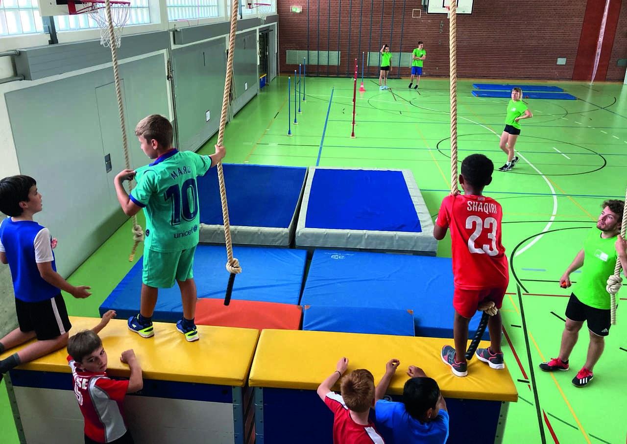 Mit «MoveYourSummer» erhalten Kinder in Rotkreuz einen Treffpunkt während den Sommerferien. ©IdéeSport