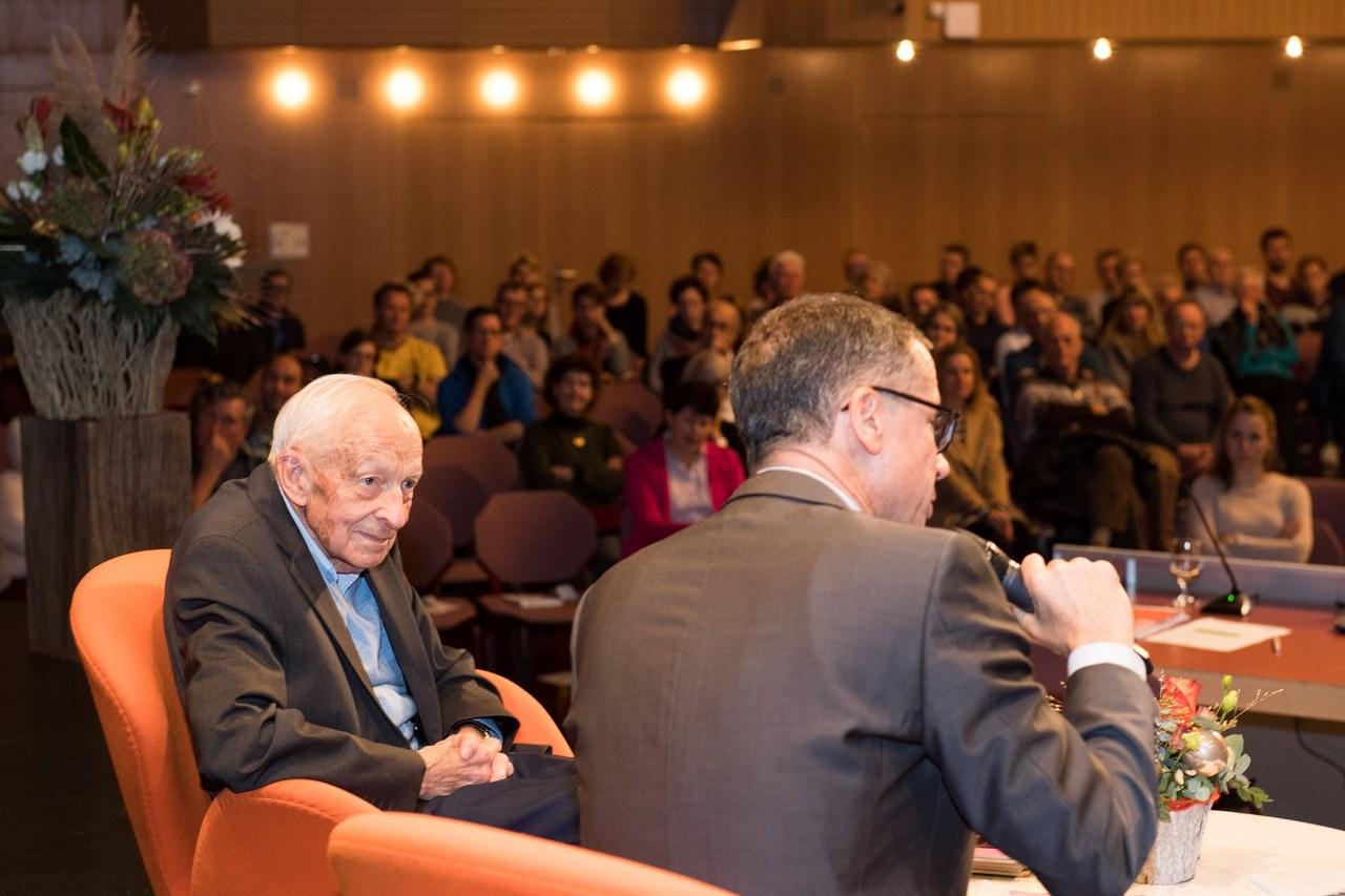 Georges Weber im Gespräch mit Peter Hausherr