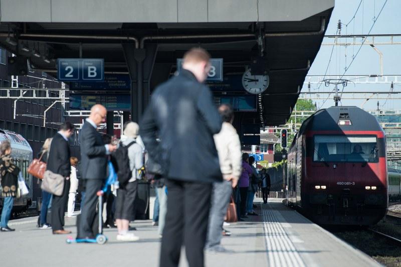Verkehrssituation Bahnhof Rotkreuz