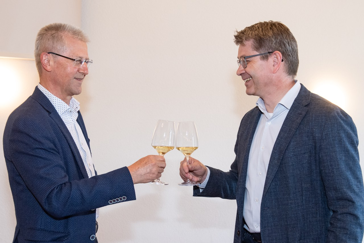 Ruedi Knüsel und Patrick Wahl
