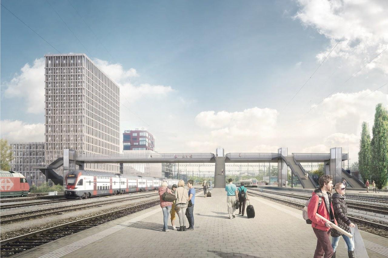 Siegerprojekt von Synaxis AG mit Michael Meier und Marius Hug Architekten AG
