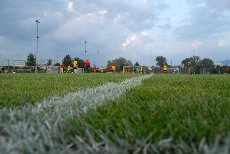 Die Fussballplätze beim Sportpark Rotkreuz werden rege benutzt.