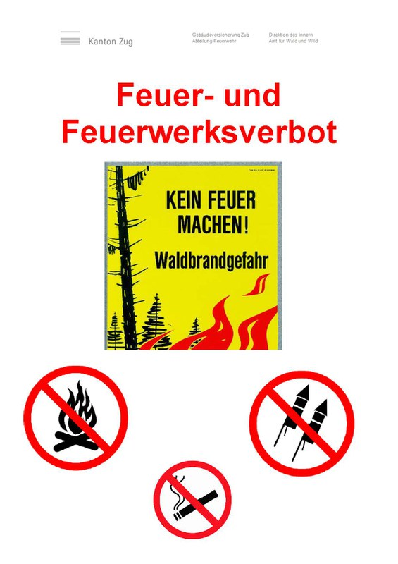 Feuerverbot