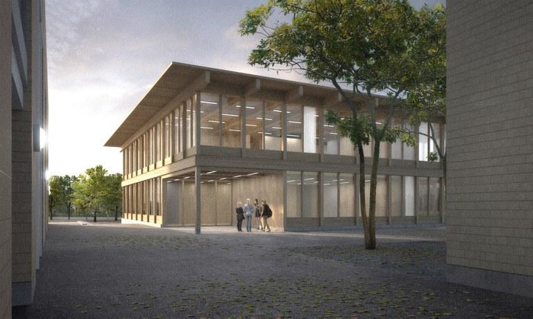 """Visualisierung Neubau Waldeggstrasse (Projekt """"Strichpunkt"""")"""