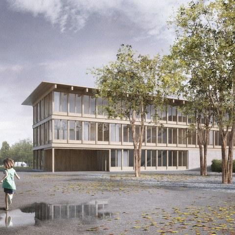 Visualisierung Neubau Meierskappelerstrasse (Projekt