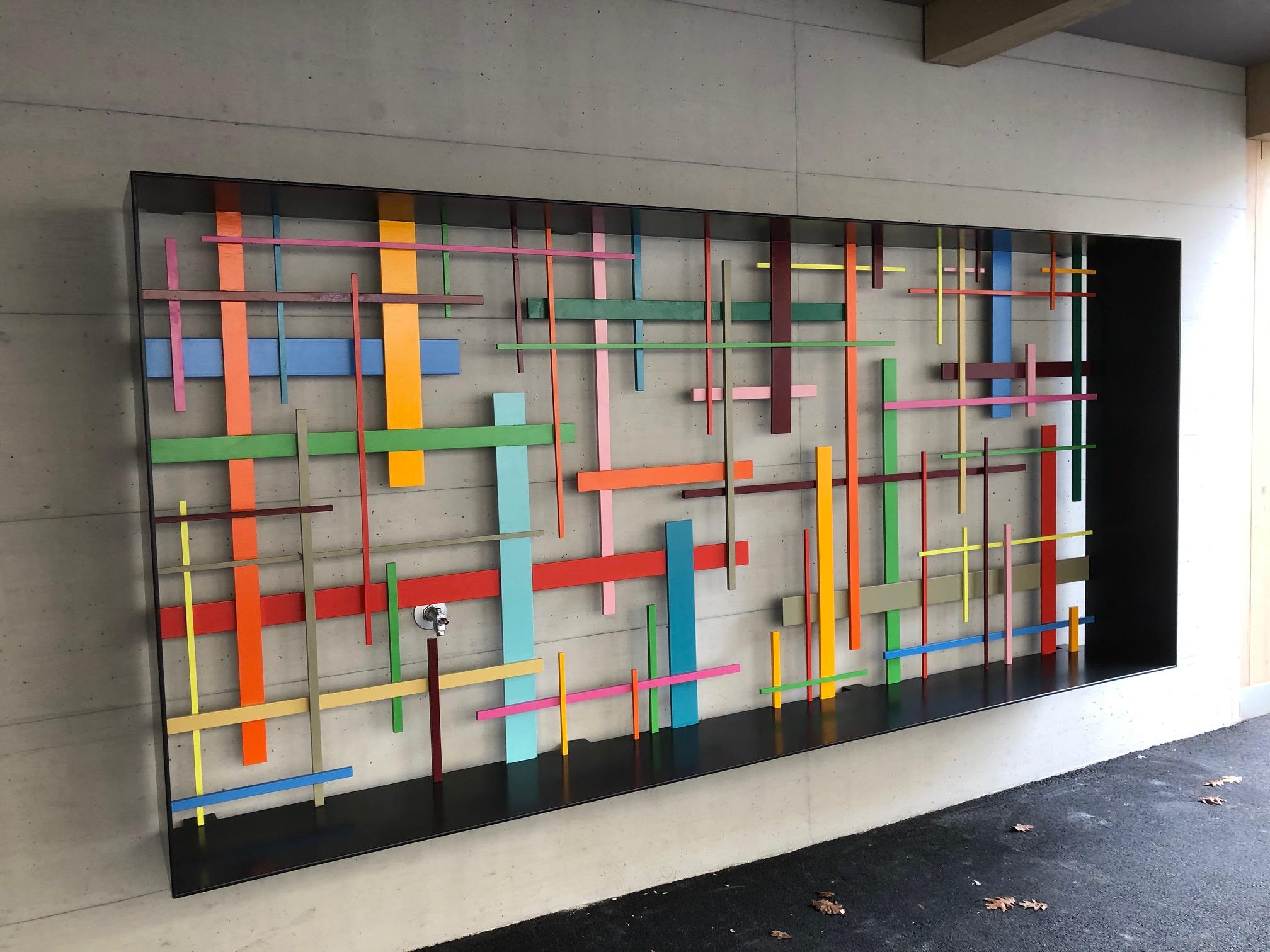 Neubau Ost Kunst am Bau