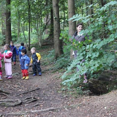Spielen im Wald 1