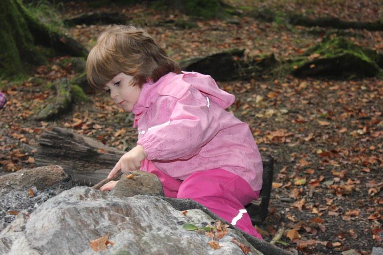 Spielen im Wald 3