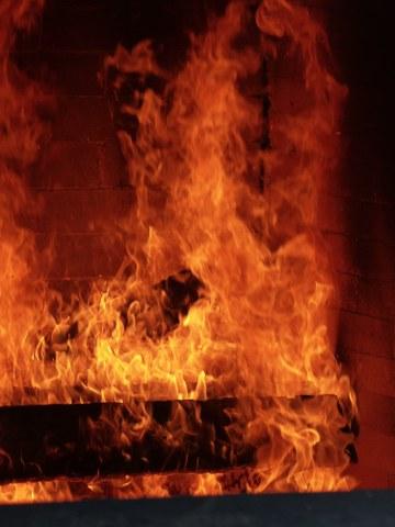 Brandgebäude Rohwiesen Feuer