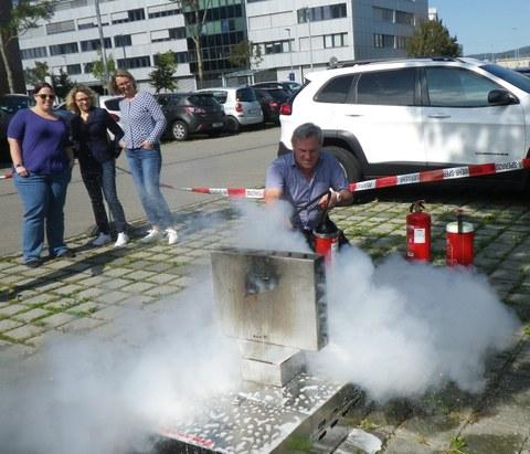 Brandschutzschulung VTG
