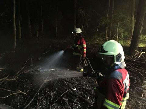 Brand im Zimbelwald