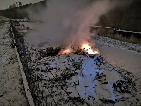 Nr.18 / Brand-Rauch Sennweidstrasse