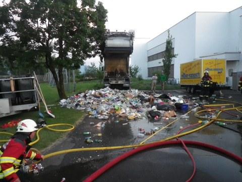 Rauchentwicklung an der Eschfeldstrasse (TB 11.6.17)
