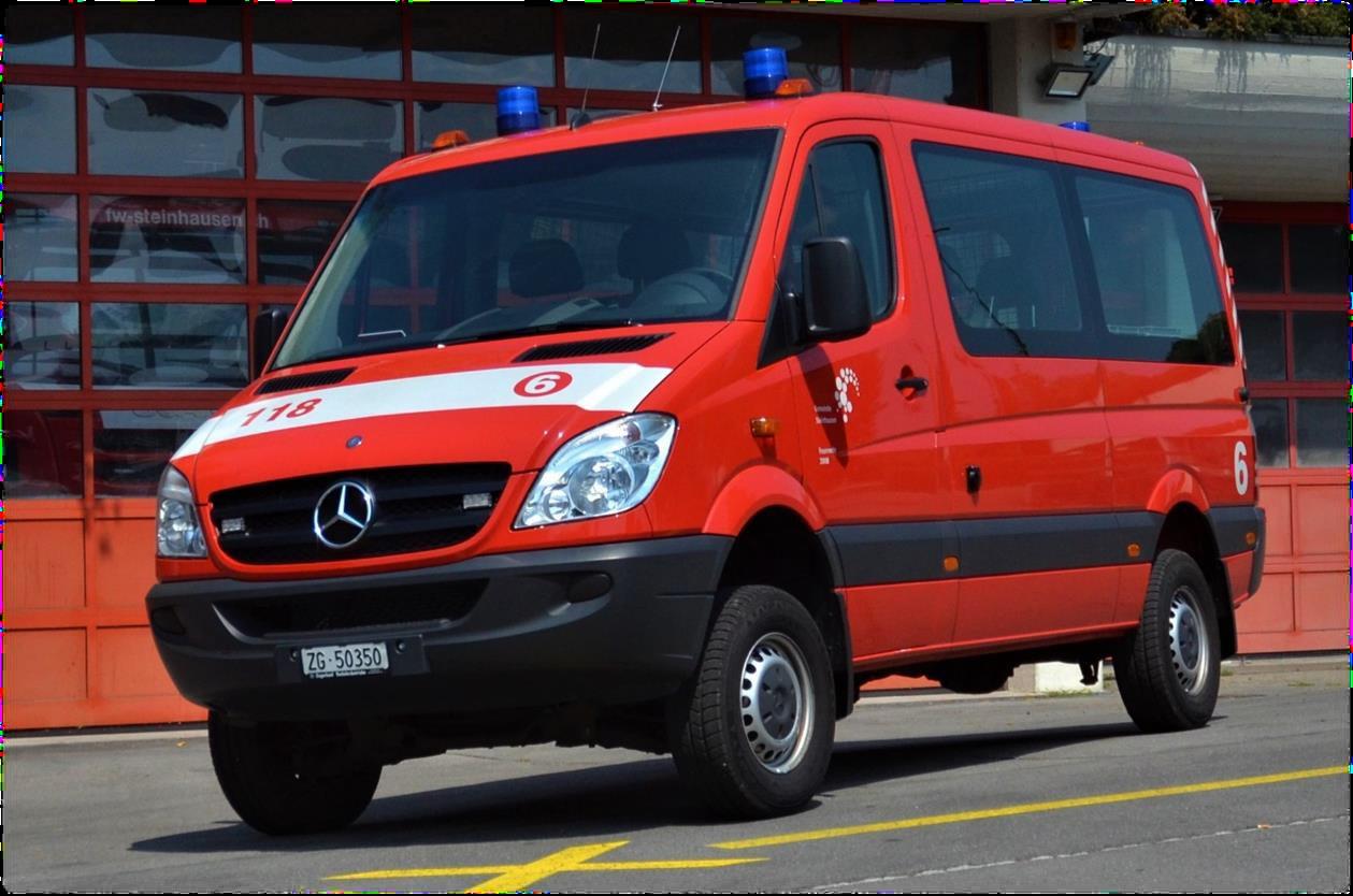 Mannschaftstransportfahrzeug Steinbock 6