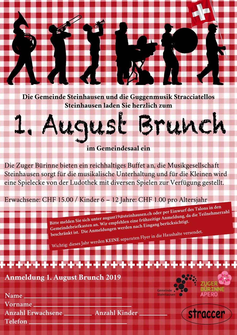 Flyer 1. August Brunch