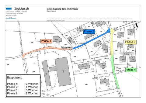 Bauphase Erli- und Bannstrasse