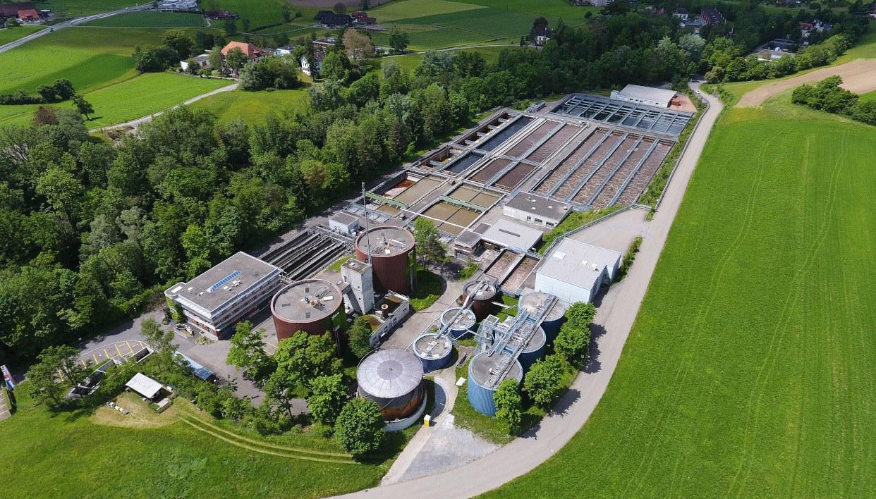 Luftaufnahme ARA Schönau
