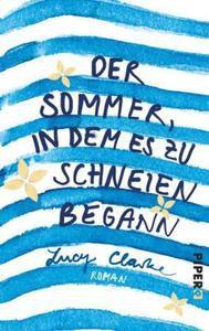 """Coverbild des Buches """"Der Sommer in dem es zu schneien begann"""""""