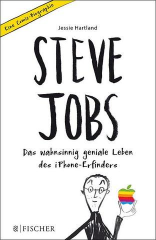 """Coverbild des Buches """"Steve Jobs Das wahnsinnig geniale Leben des iPhone-Erfinders  Comic-Biografie"""""""