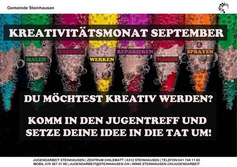 Kreativitätsmonat September