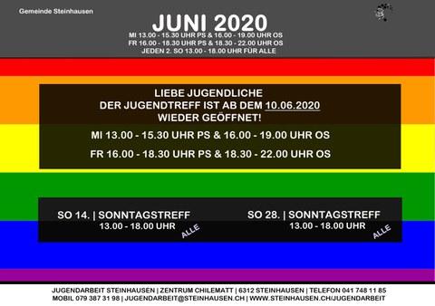 Monatsprogramm Juni