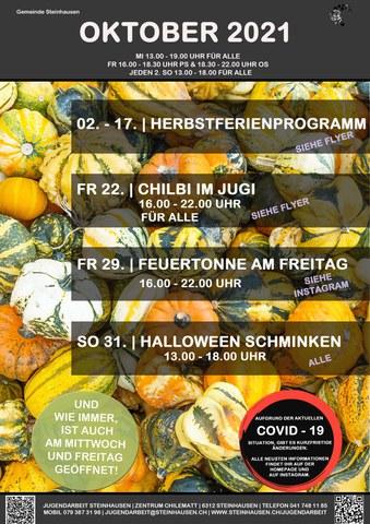 Monatsprogramm Oktober