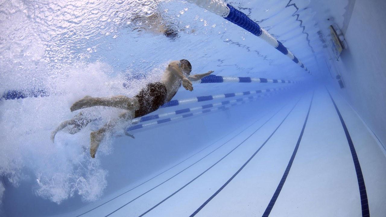 Schwimmunterricht in der Gemeinde Steinhausen