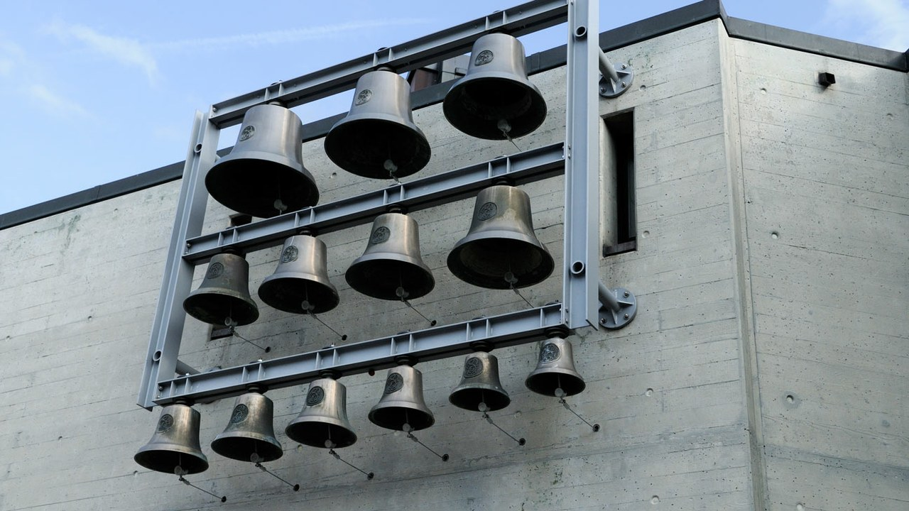 Glockenspiel der Don Bosco Kirche Steinhausen.