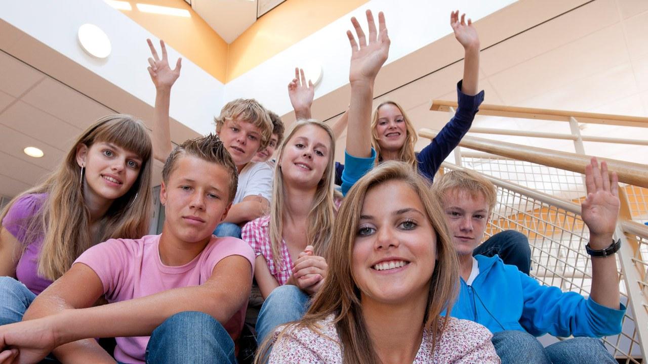 Die Schule Steinhausen wartet mit einem breiten Angebot auf.