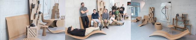 """HFTG Projekte """"Das schöne Möbel"""""""