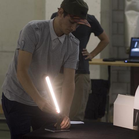 HFTG Projekt Leuchtobjekte