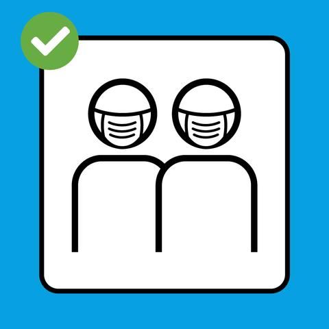 Präsenzunterricht mit Hygienemasken oder zertifizierten Stoffmasken