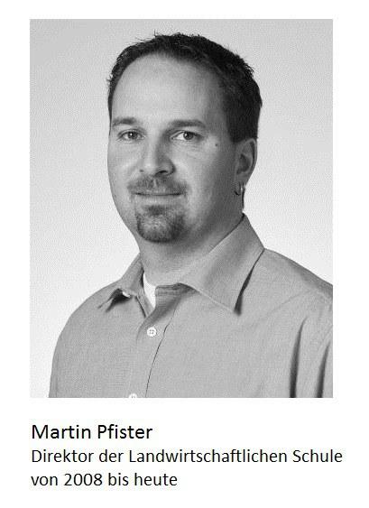 Martin Pfister, Rektor