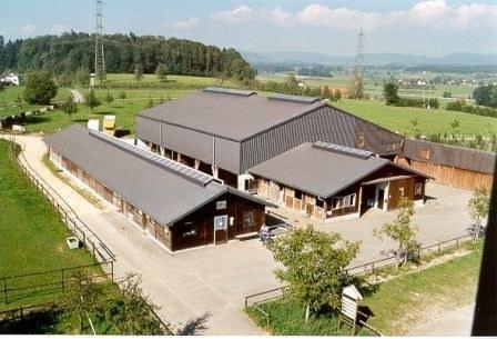 Luftaufnahme Schluechthhof