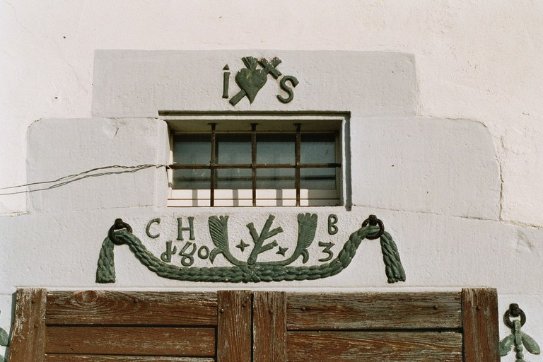 Türsturz mit Bauinschrift von 1803 Cham (ZG)