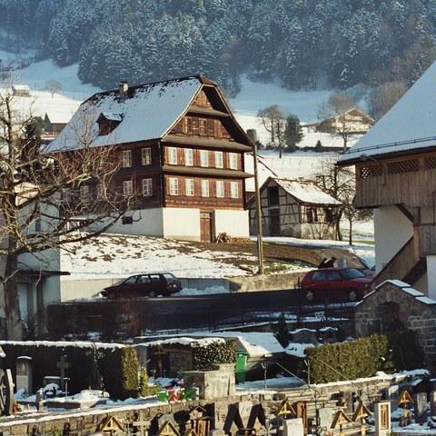 Bauernhaus von 1834 Bürglen (UR)