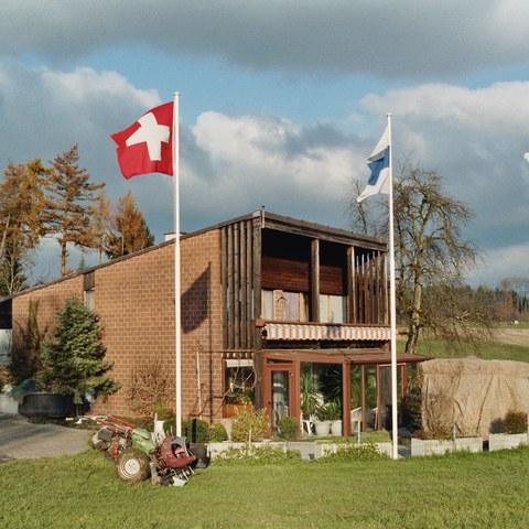 Moderner Bauernhof von 1974 Cham (ZG)